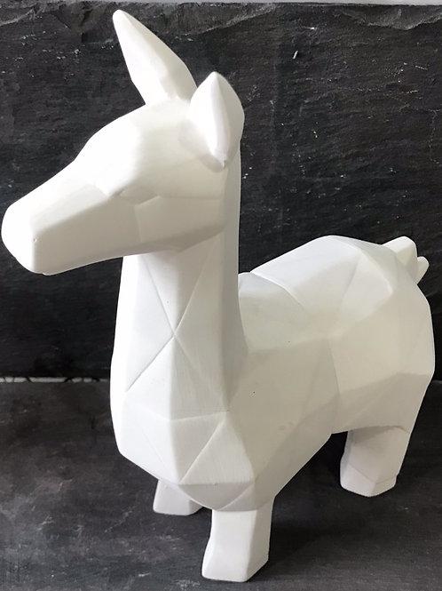 Faceted llama