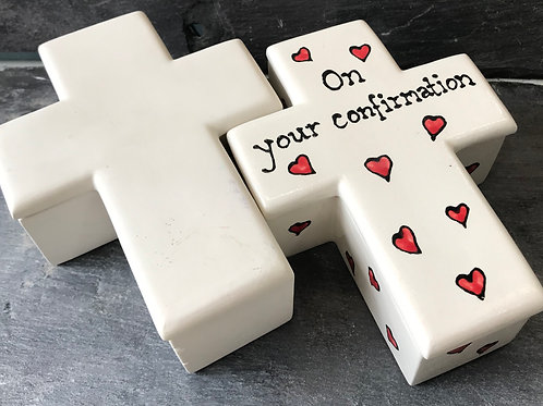 Cross trinket box