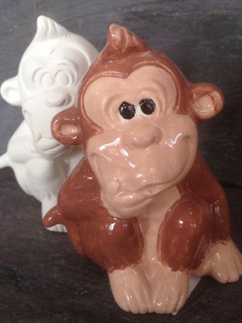 Slipcast monkey