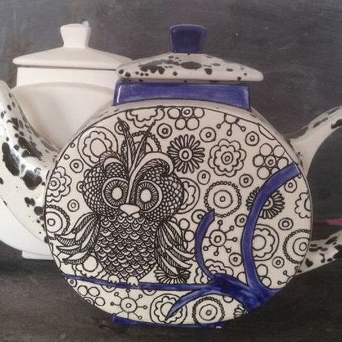 Asian flare teapot