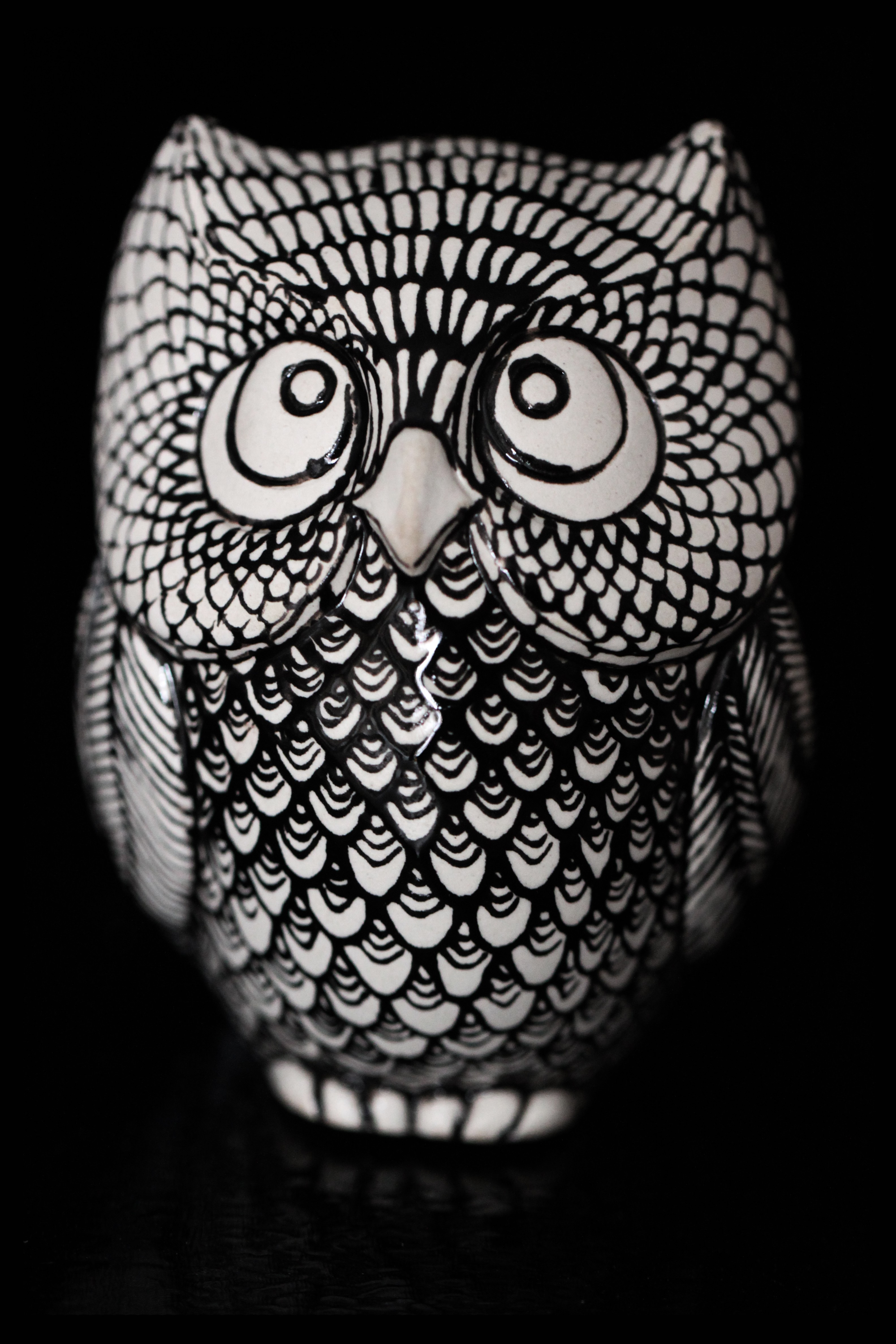 Slip Cast Owl