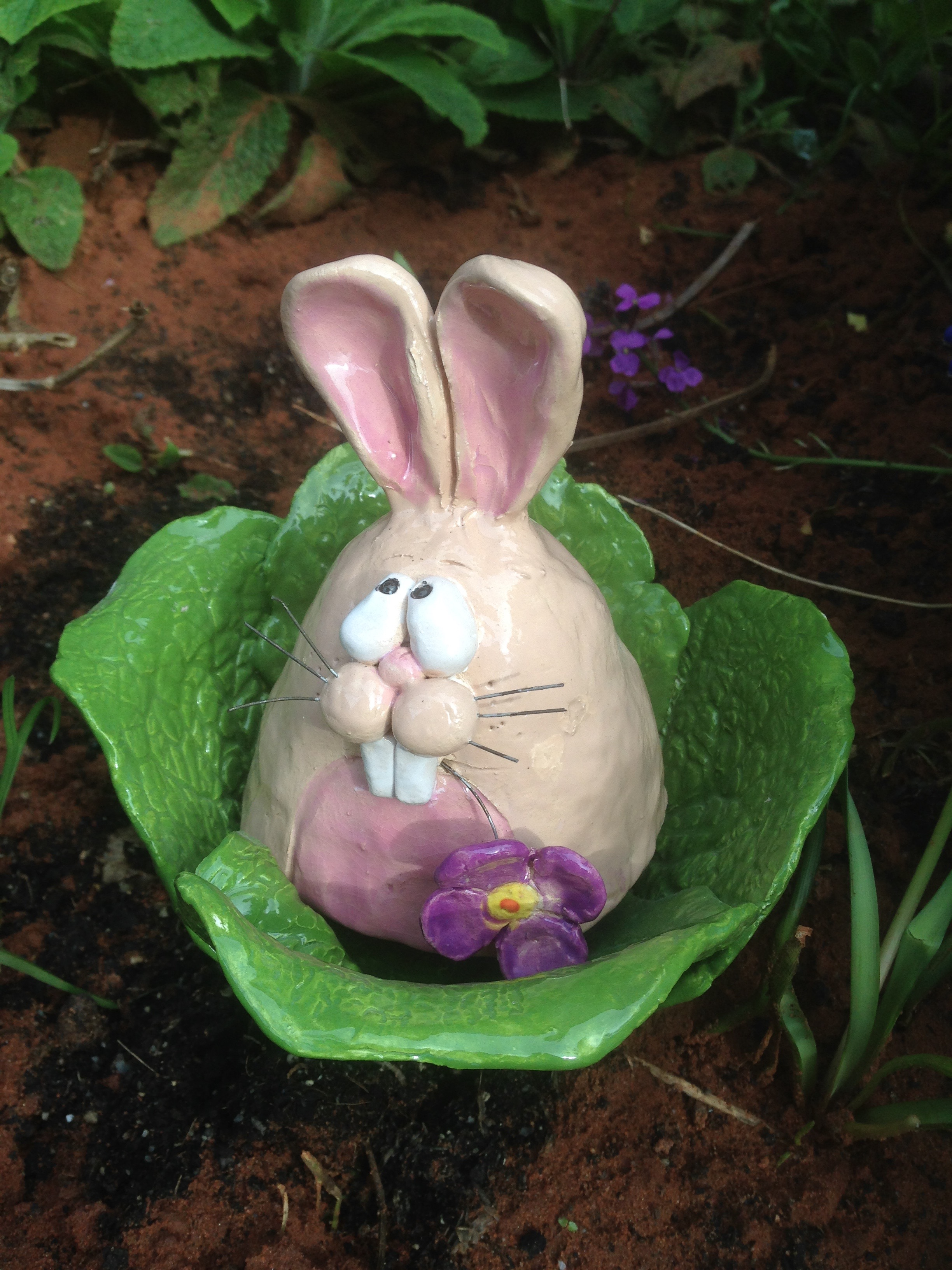 Clay Day Easter Bunny