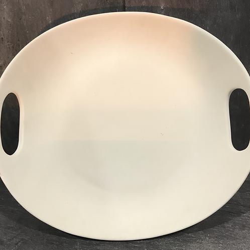 2 handled oval platter