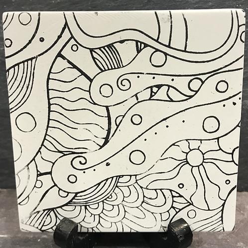 Mindfulness coaster