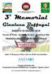 3° Memorial Gianluca Buffagni SABATO 30 GIUGNO 2018