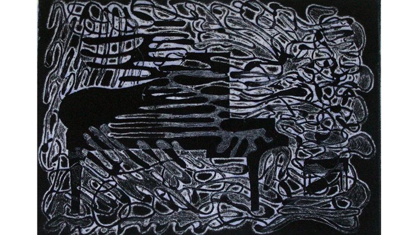 Tekli Gravür Epreuve d'Artiste Serisi - Fırtına