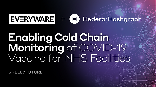 Everyware and Hedera Hashgraph Enabling