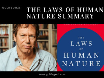 The Laws Of Human Nature Summary