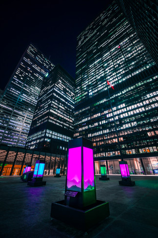TD Canada Bank - Northern Lights Art Installation Campaign