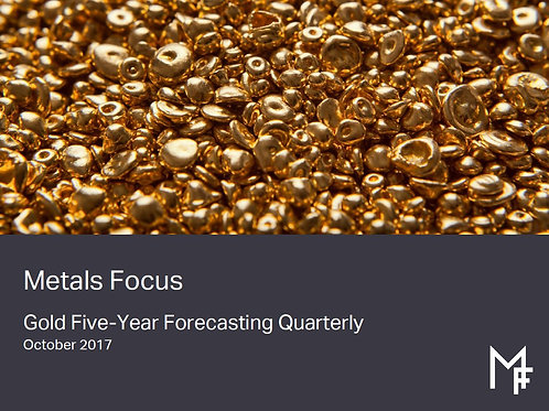 Gold Five-Year Forecasting Quarterly