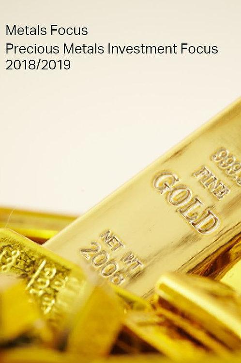 Annual Precious Metals Investment Focus 2020/21