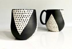 v line mug