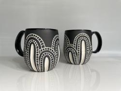 mod cacti mugs