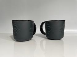 black diamond latte cups