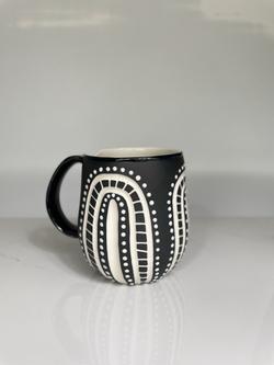 prickly cacti mug