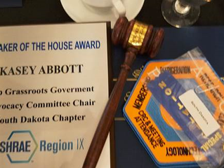 ASHRAE Speaker of the House Award
