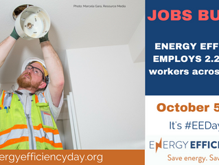 Second Annual Energy Efficiency Day October 5th #EEDay2017