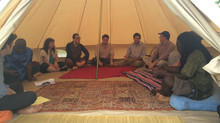 'Time for a Time Limit' Interfaith Tent