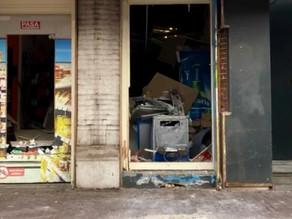 Grote schade na plofkraak in Amsterdam