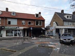 Vijf explosies bij vier Poolse supermarkten