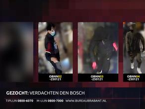 Verdachten rellen Den Bosch in beeld