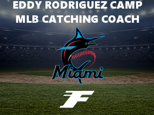 Eddy Rodriguez Catching Camp