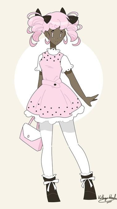 Pink Pigtails