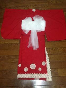E-style children's kimono