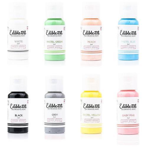 Sweet Sticks Edible Paint Pastel 8-pack