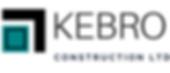 Kebro construction company logo