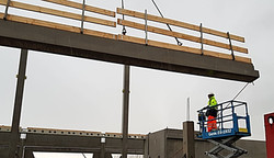 Pre cast concrete, Construction