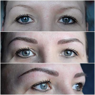 3D Hairstroke Eyebrows