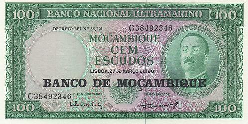 Mozambique, 1961, 100 Escudos