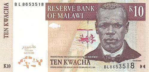 Malawi, 2004, 10 Kwacha