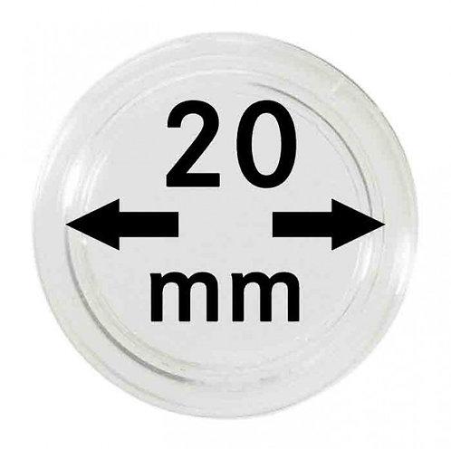 COIN CAPSULES 20 MM Ø INNER DIAMETER