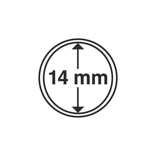 Coin Capsules, 14MM Ø inner diameter