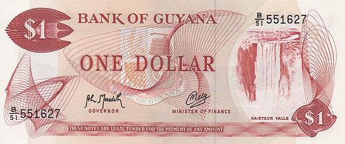 Guyana, 1992, 1 Dollar