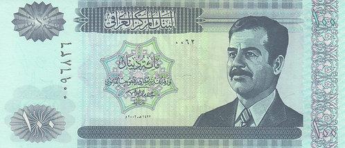 Iraq, 2002, 100 Dinars