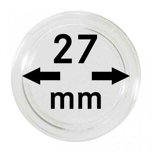 COIN CAPSULES 27 MM Ø INNER DIAMETER
