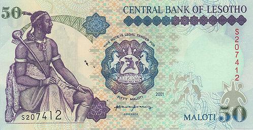Lesotho, 2006, 50 Maloti