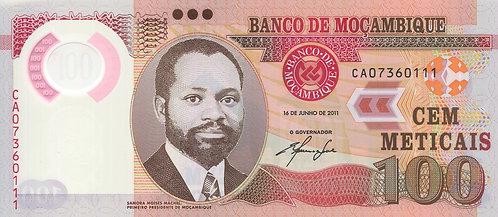Mozambique, 2012, 100 Vinte Meticais