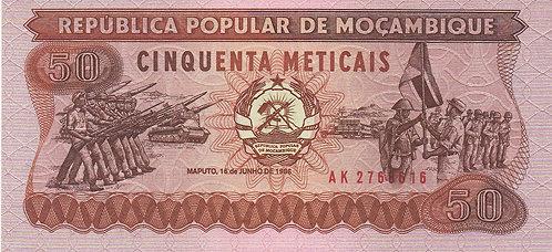 Mozambique, 1986, 50 Meticais