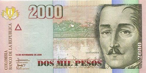 Colombia, 2006, 2000 Mil Pesos