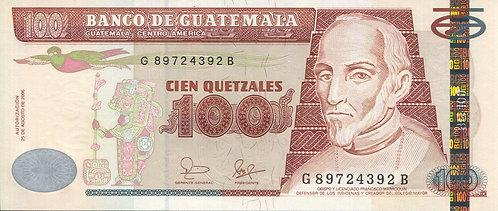 Guatemala, 2006, 100 Quetzales