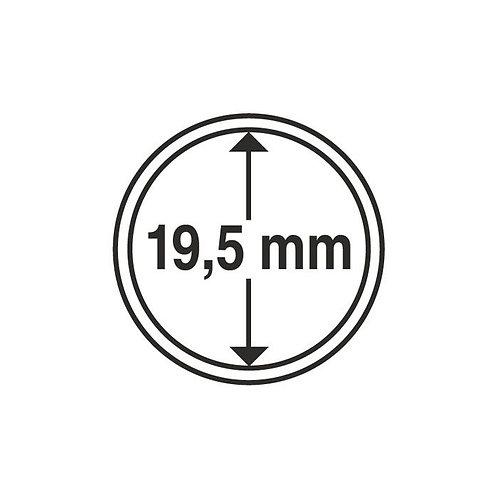 Coin Capsules, 19.5MM Ø inner diameter
