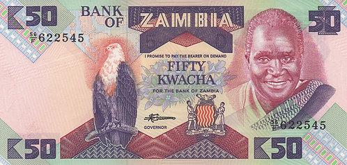 Zambia, 1988, 50 Kwacha