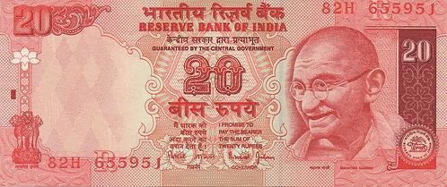 India, 2002, 20 Rupees