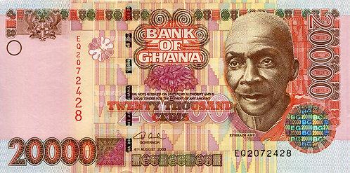 Ghana, 2003, 20,000 Cedis
