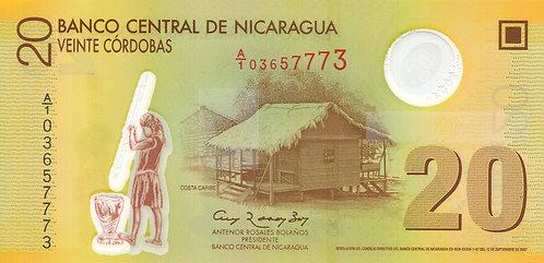 Nicaragua, 2009, 20 Cordobas