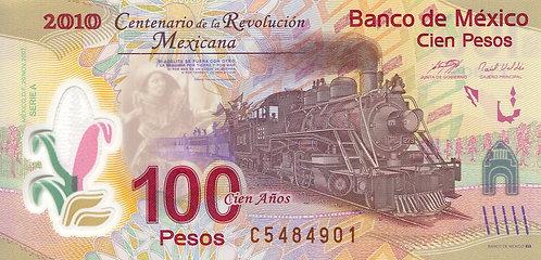 Mexico, 2009, 100 Pesos, Polymer